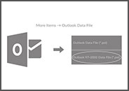ANSI PST file in latest version of Outlook