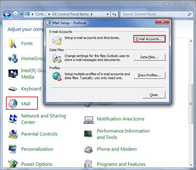 how to create second email account in outlook