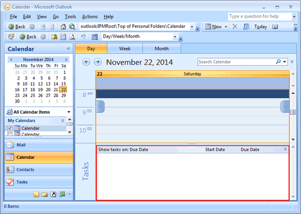It Shows   Microsoft Daily Planner