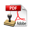 apply PDF file settings