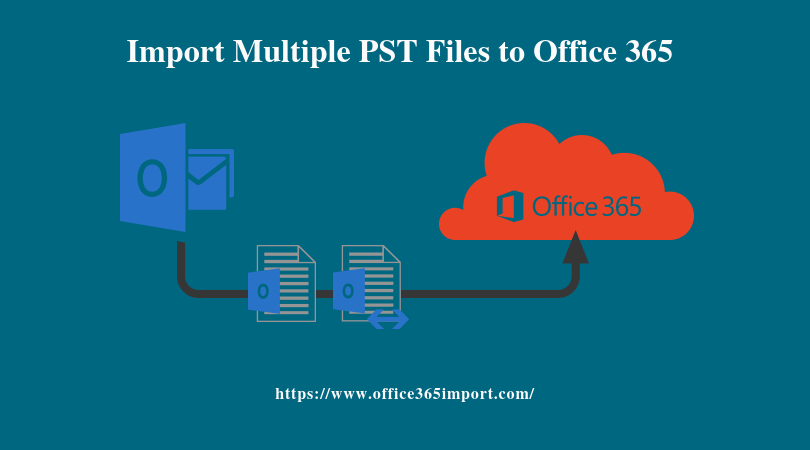 Import Multiple PST File to Office 365