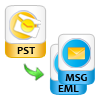 Export Outlook PST to MSG