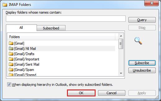 Click on ok to close the dialog box