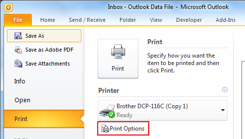 How to Save Outlook Emails as PDF Files?