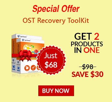 Bundle offer of OST Recovery offer