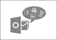 view Outlook Social Connector