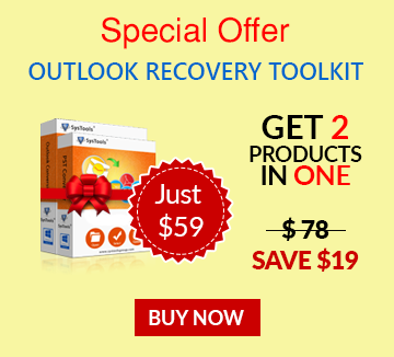 Bundle offer of Outlook Recovery